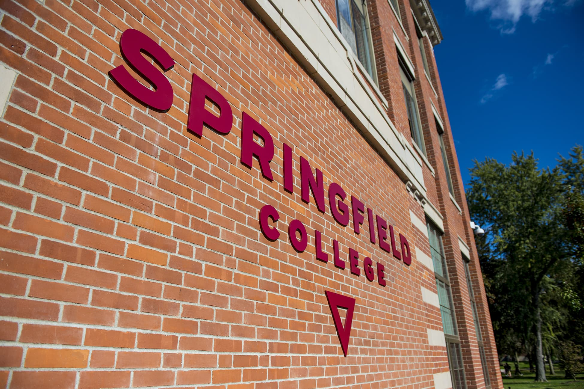 The campus of Springfield College