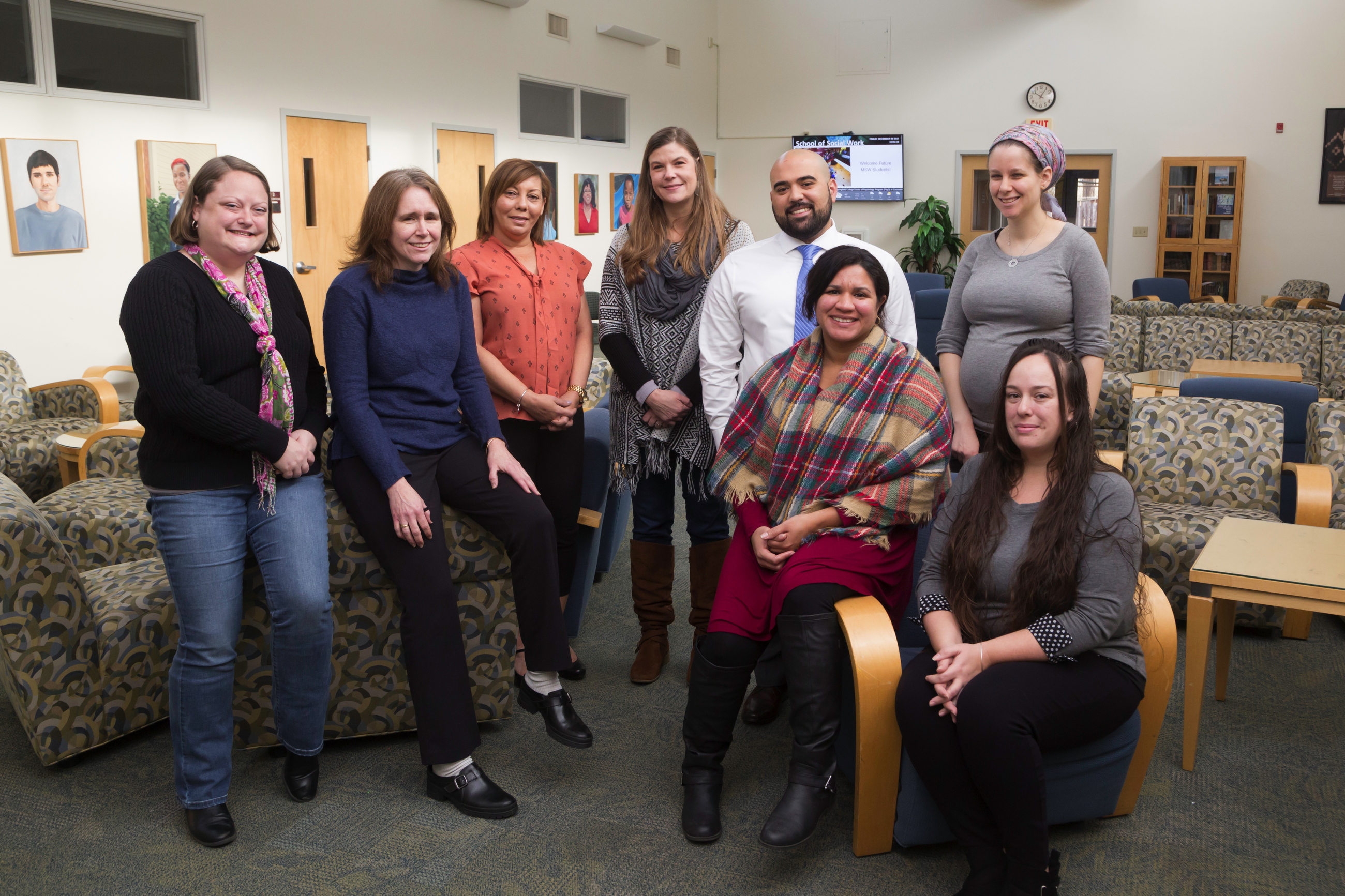 Group image of School of Social Work individuals