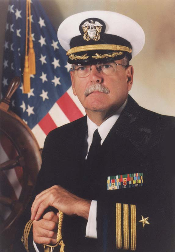 Cmdr. Tom Keating