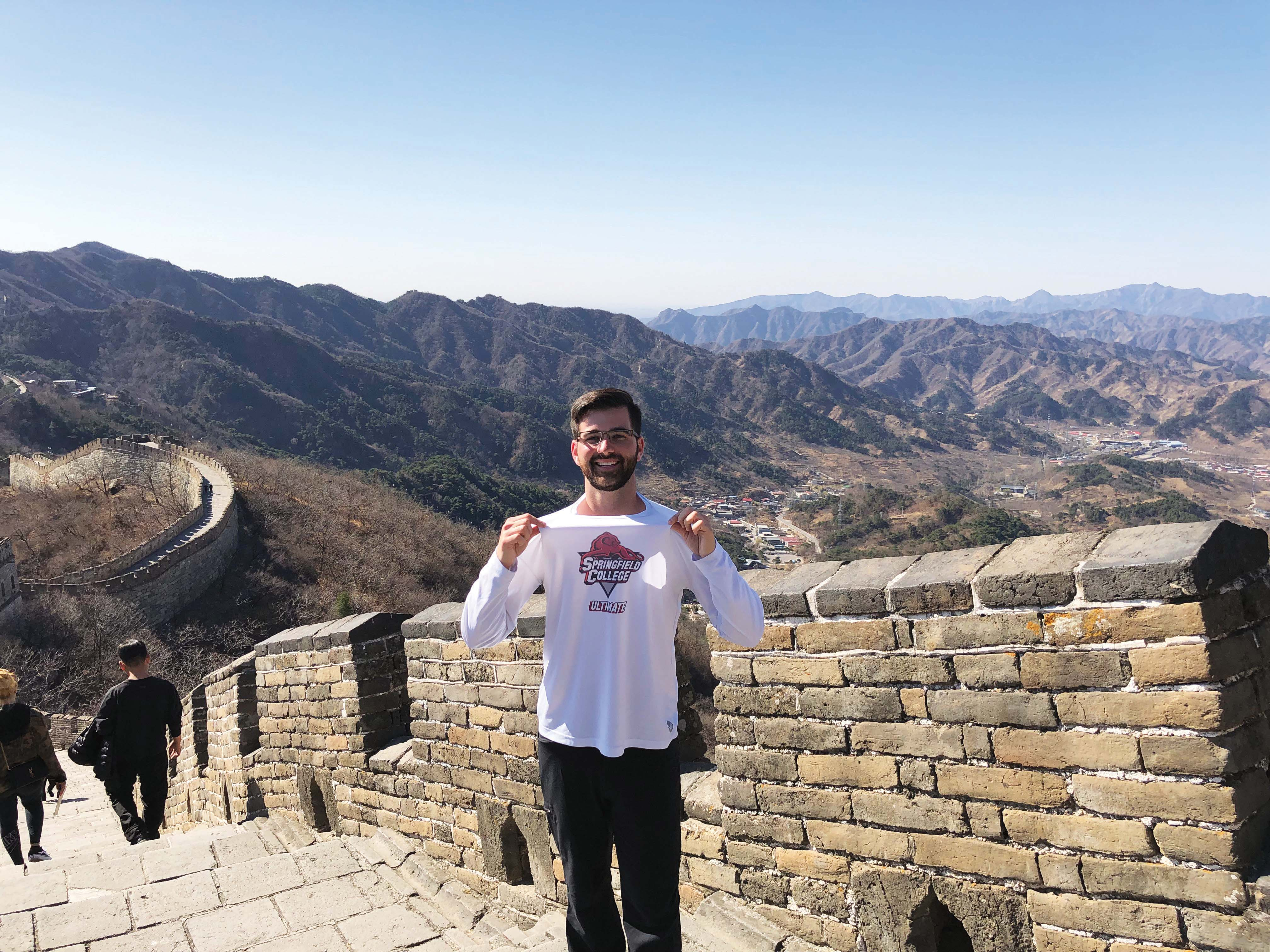 Stu Sokoloff on the Great Wall of China