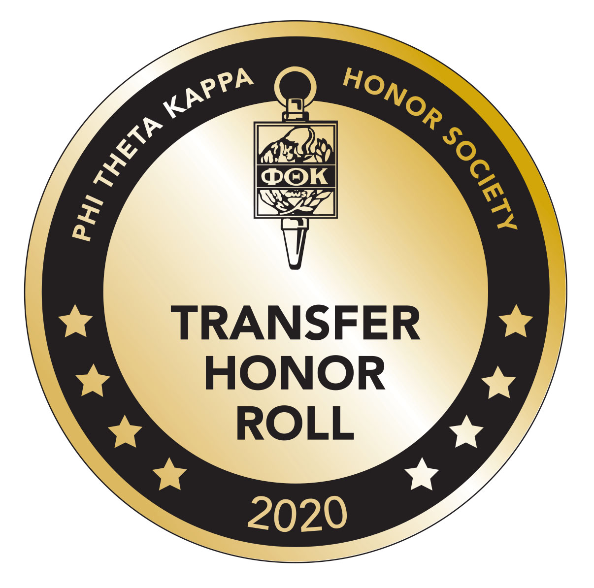 Transfer Honor Roll 2020 Badge