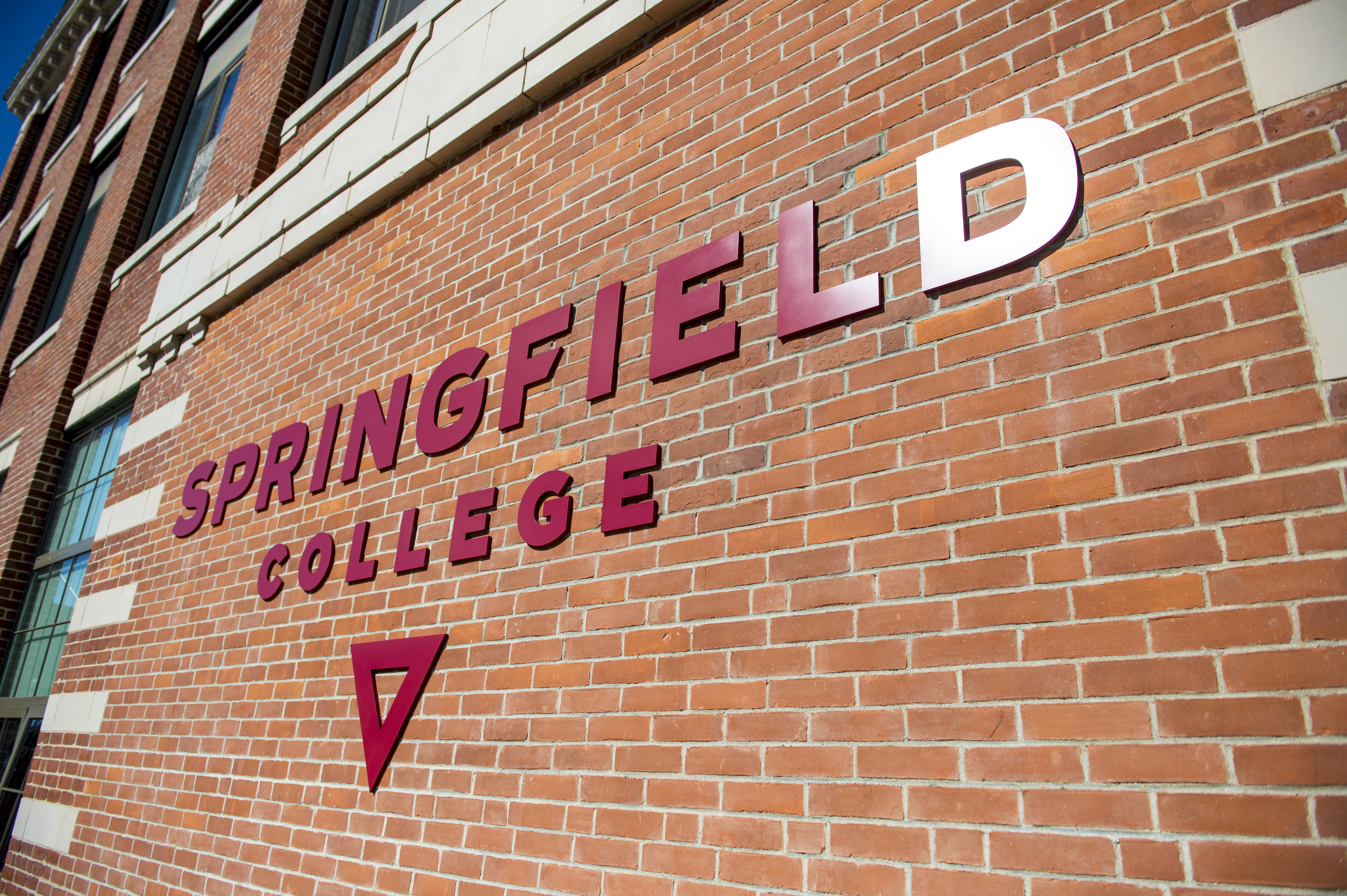 Springfield College Logo on Locklin