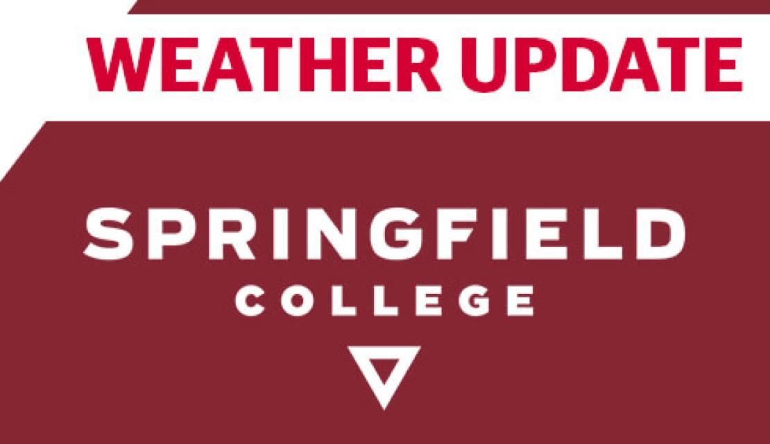 Springfield College weather update template