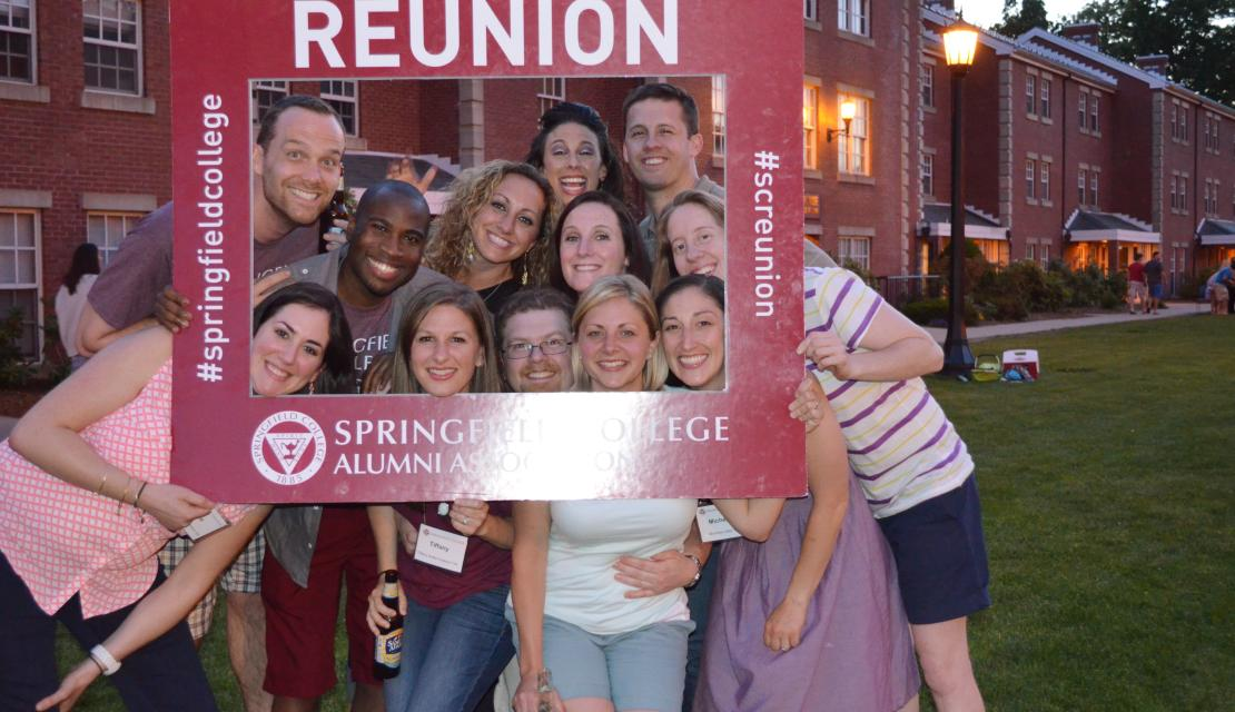 Young Alumni at Reunion