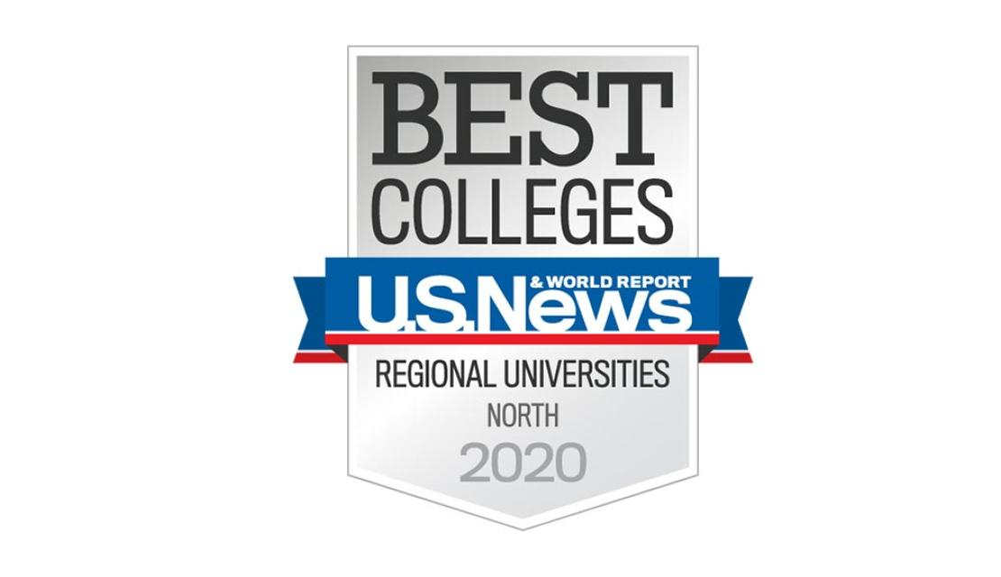 Badge for the U.S.News Regional Universities Best Value in 2020