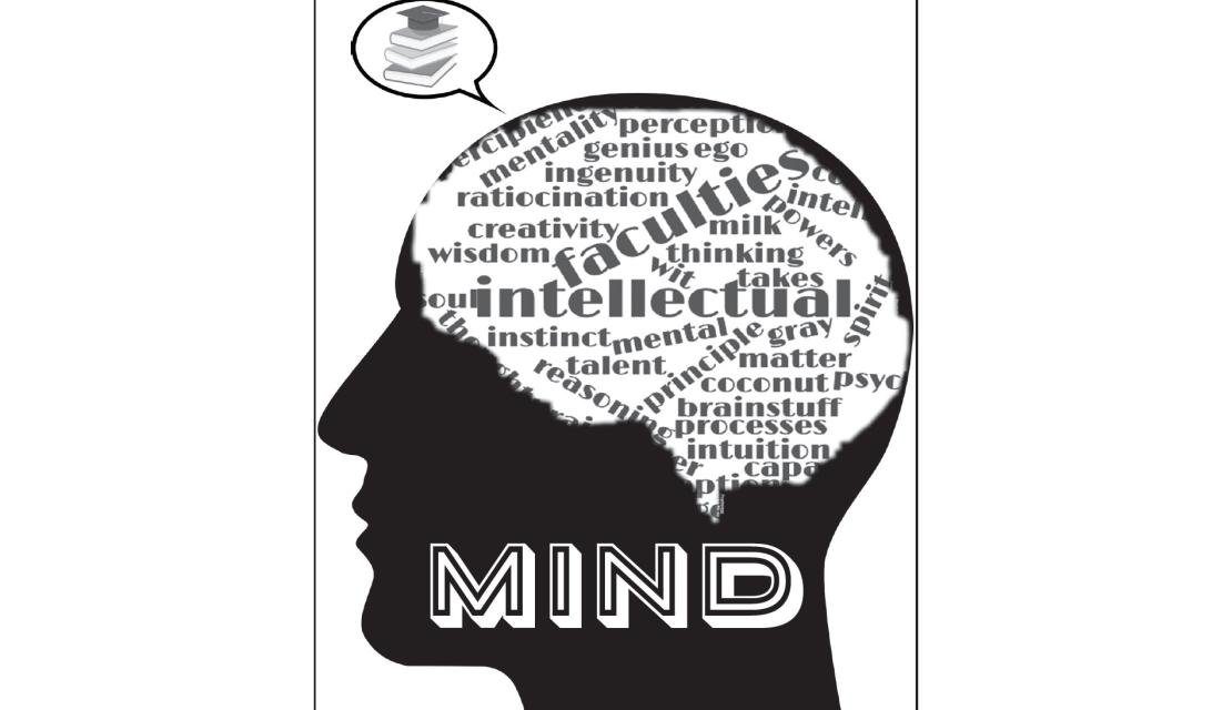 Graphic Design rendering of mind