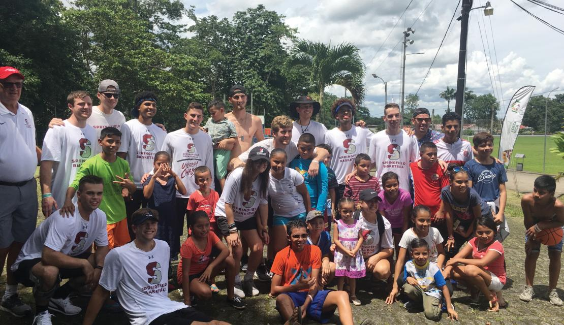 Basketball Team in Costa Rica