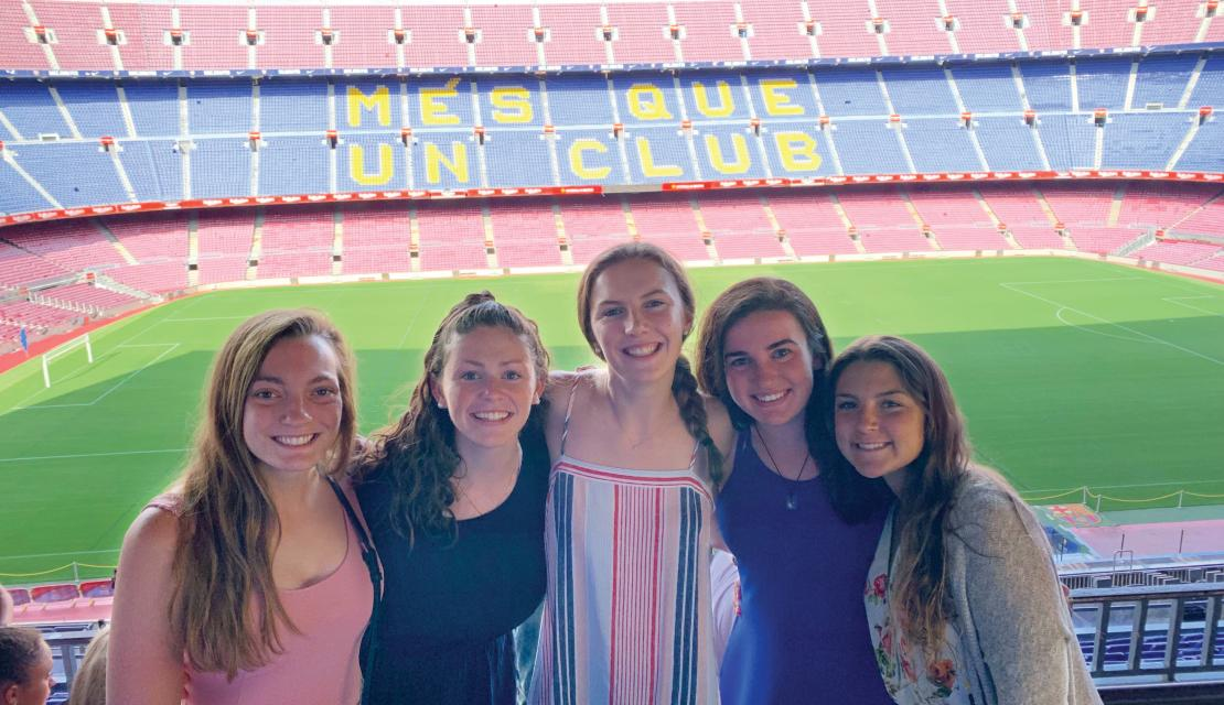 Field Hockey Team in Spain