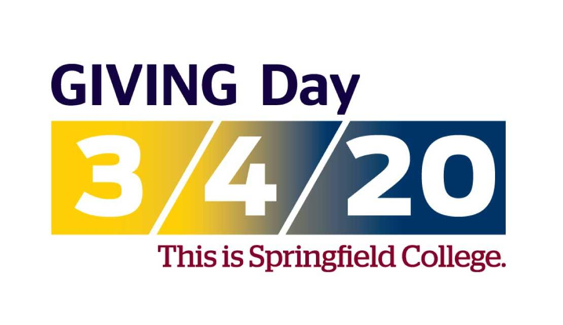 Giving Day 3/4/20. This is Springfield College.