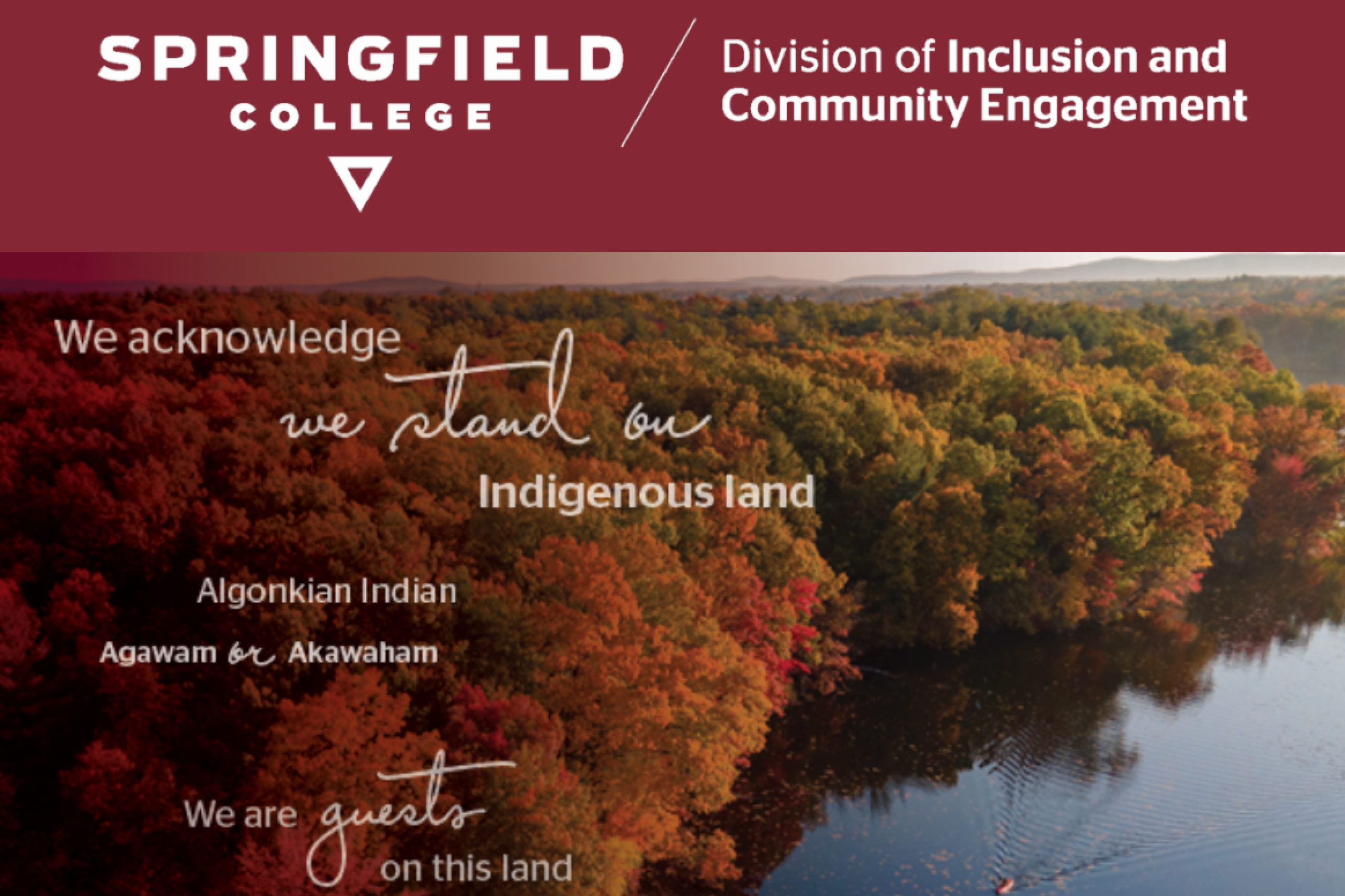"The Springfield College Office of Inclusion and Community Engagement hosted a ""fireside chat"" on Tuesday, Nov. 17."