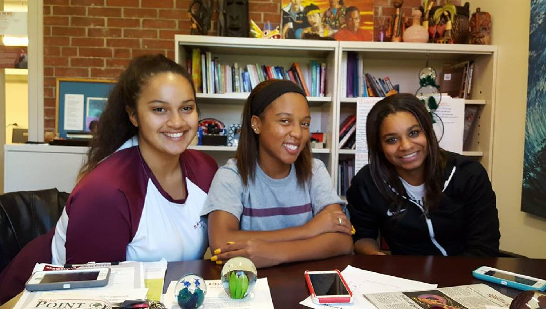 Students in the Office of Multicultural Affairs
