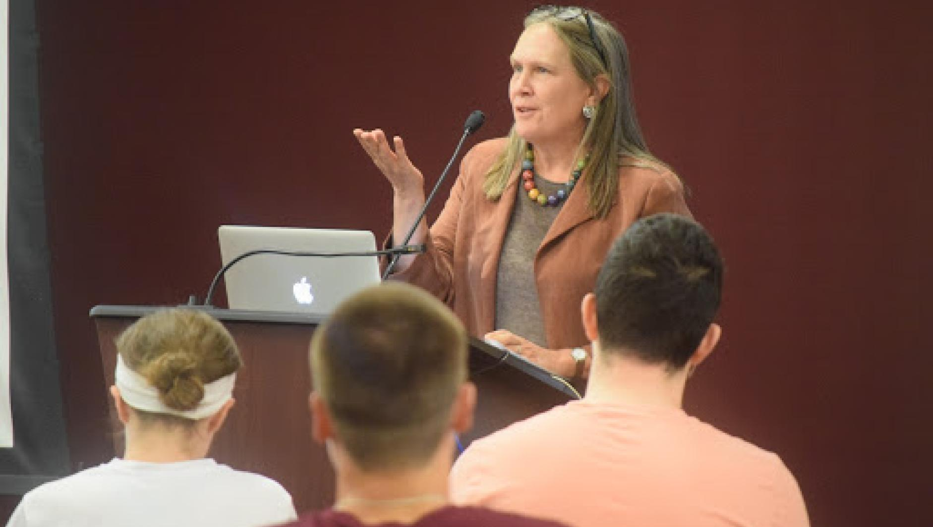 Debby Irving lecture at Springfield College