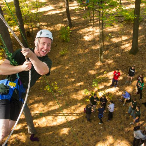 East Campus ropes course