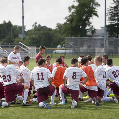 Men's soccer on the Irv Schmidt Sports Complex
