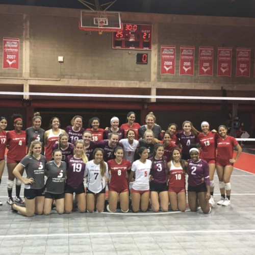 Women's volleyball team in Puerto Rico