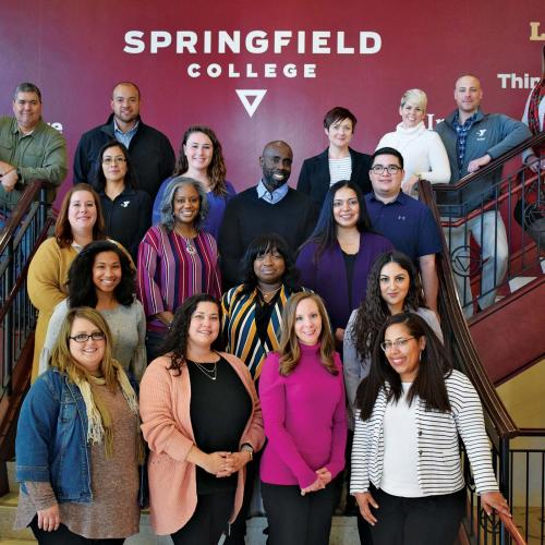 Members of the YMCA Completion program at Springfield College