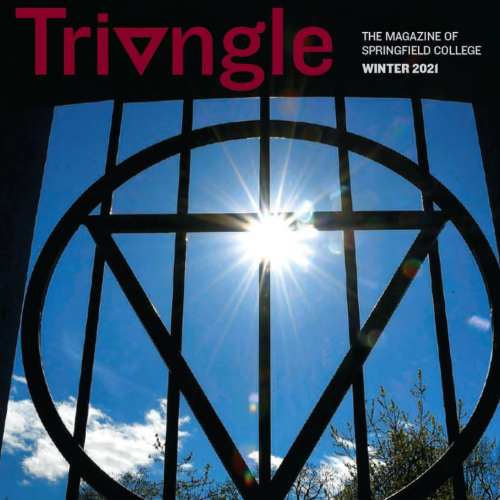 Cover of the latest edition of Triangle Magazine.