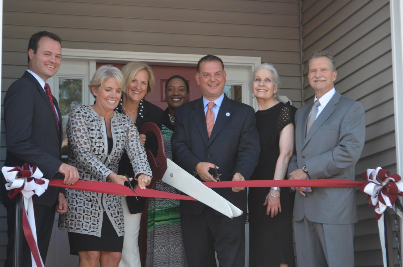 Ribbon Cutting Ceremony of the Deaf Community Home