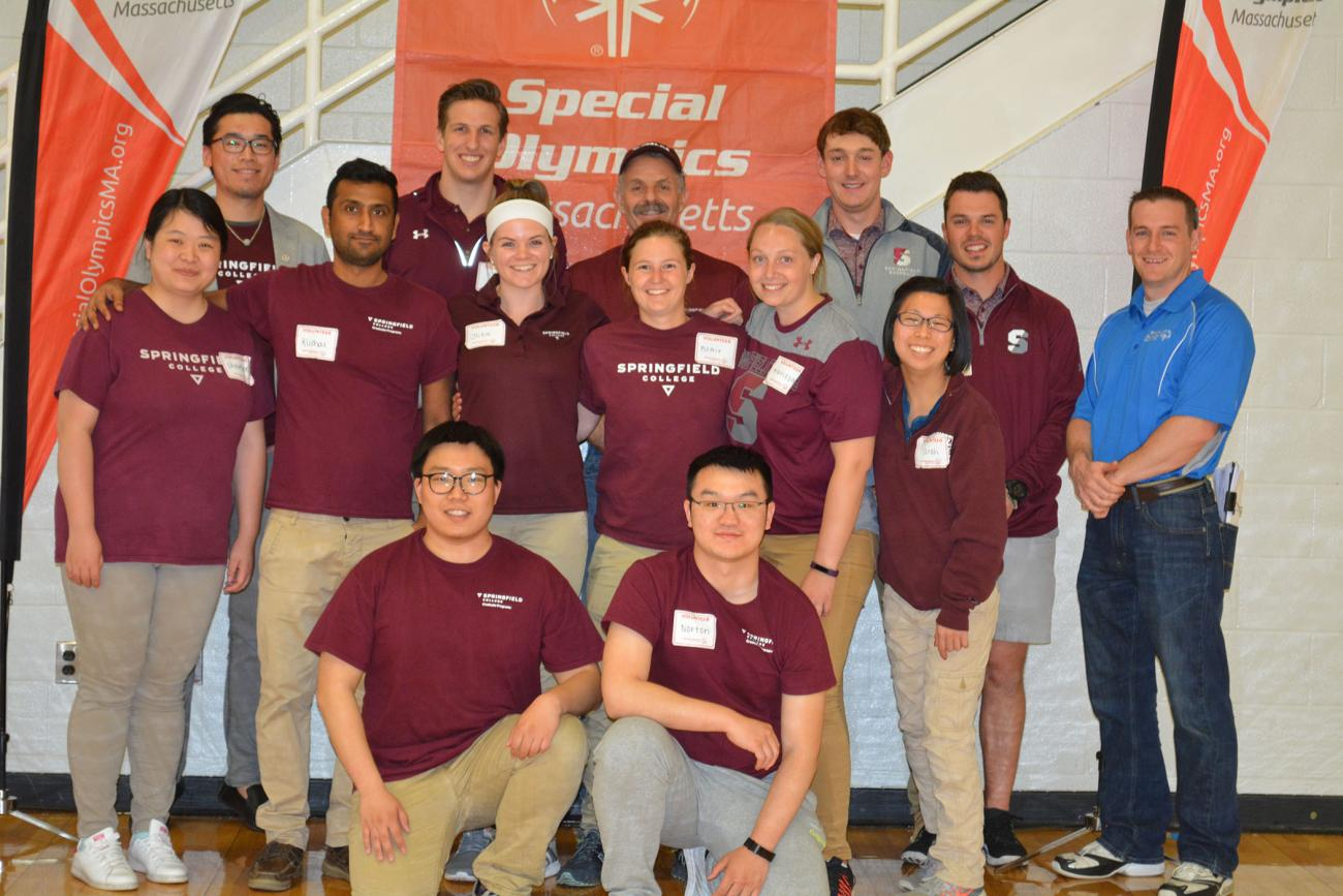 The Springfield College Department of Sport Management and Recreation, in collaboration with the Special Olympics of Massachusetts, will host a volleyball tournament at Blake Arena and the Field House inside the Wellness and Recreation Complex on Sunday, April 22, from 9 a.m. to 5 p.m.