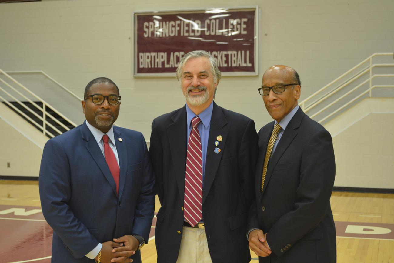 Springfield College, the Naismith Memorial Basketball Hall of Fame, and the Beta Sigma Boulé chapter of the Sigma Pi Phi fraternity announced that Class of 2018 Naismith Memorial Basketball Hall of Fame member Grant Hill will be the keynote speaker for the 3rd annual Education and Leadership Luncheon at Springfield College on Friday, Sept. 7, from 11:30 a.m. to 1:30 p.m.
