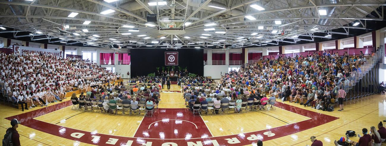 Representing 31 different states and 16 countries, Springfield College welcomes more than 1,500 new incoming students to its campus community for the 2018-19 academic year.