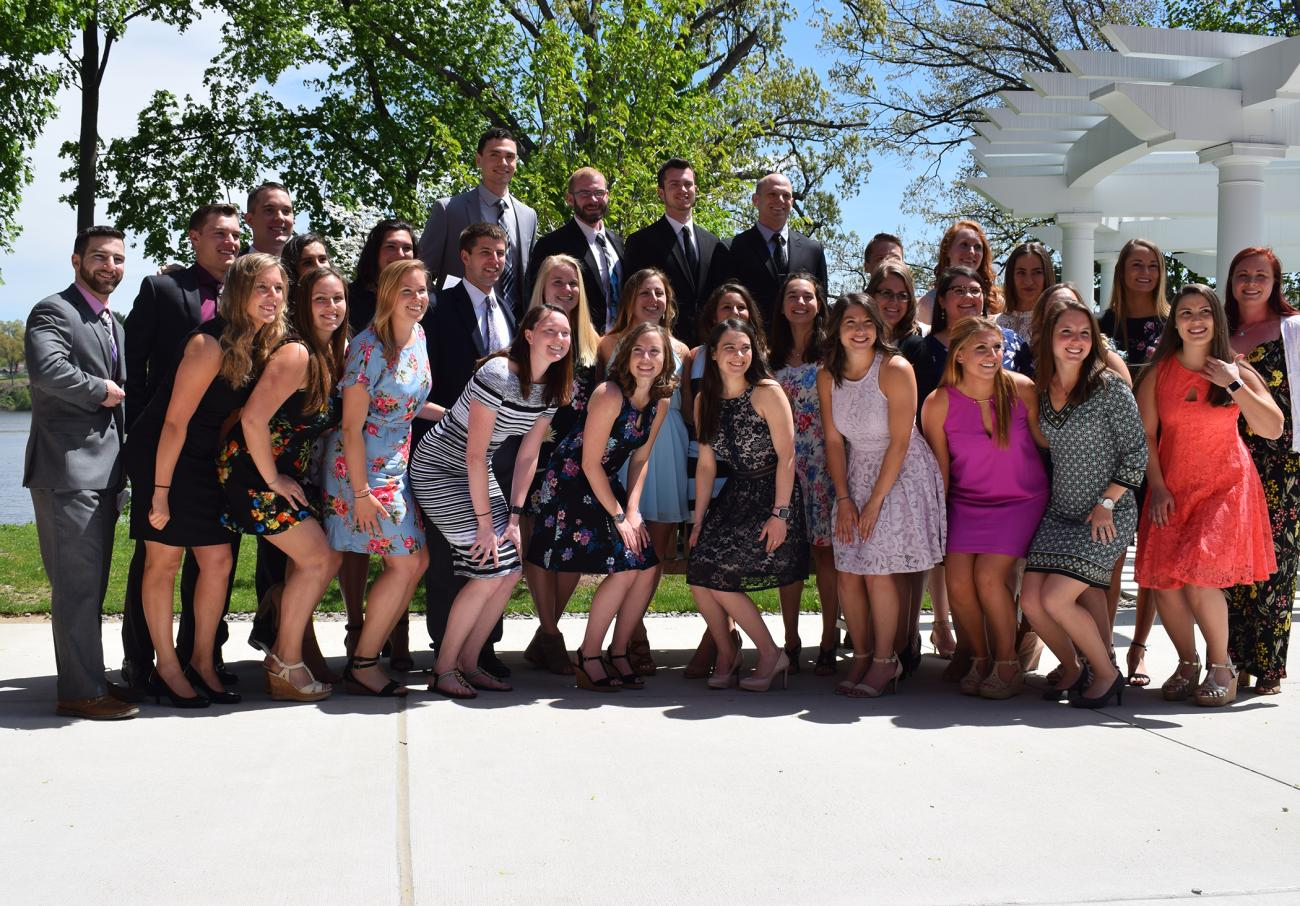 For the seventh consecutive year, the Springfield College Doctor of Physical Therapy (DPT) program has achieved a 100% pass rate. Most recently, the students graduating with their DPT in May 2018 earned this perfect mark and embarked on their chosen careers. Since 2011, the Springfield College DPT program has celebrated a 100% pass rate and 100% employment rate within six months of graduation.