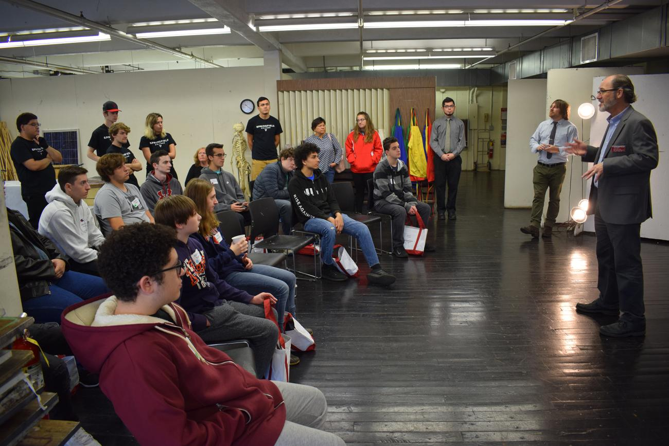 The Springfield College Department of Visual and Performing Arts and Computer Graphics/Digital Arts Program hosted a free game lab workshop on Saturday, Nov. 3, from 10 a.m. to 3 p.m., inside Blake Hall. The program was designed for high school students who have an interest in being a video game designer.