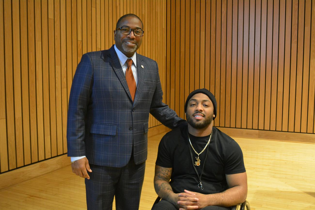 Springfield College Hosts Community Leader and Social Activist Leon Ford