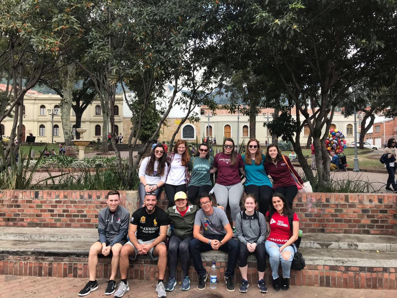 New to this year's trips, a group of participants focused on youth engagement will work at the YMCA in Colombia, South America.