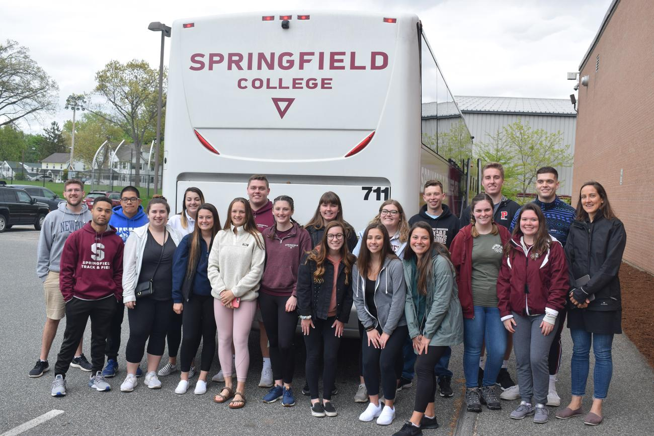 Springfield College Assistant Professor of History Ian Delahanty and Assistant Professor of Religion Katherine Dugan are leading 24 Springfield College undergraduate students on a short-term study abroad trip to Ireland from May 14 through May 23.