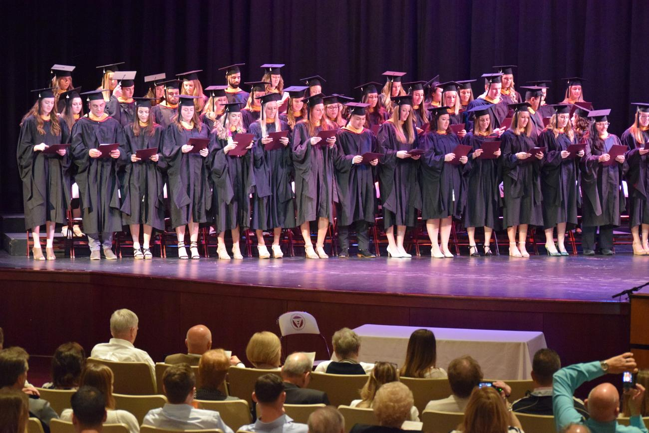 The Springfield College Department of Occupational Therapy hosted its annual Academic Completion Ceremony on Friday, May 10 in the Fuller Arts Center.