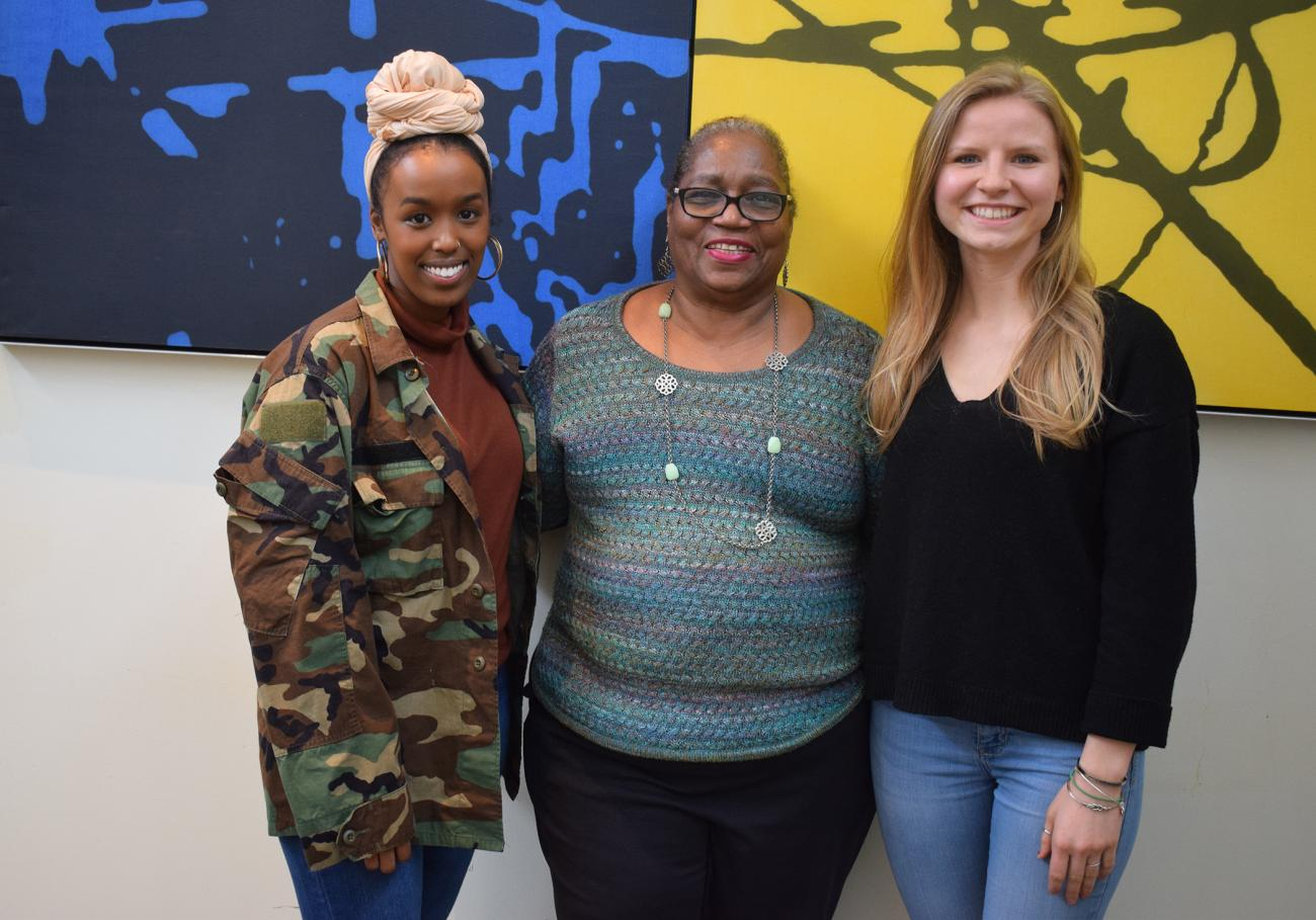 Springfield College Master of Social Work students Ladan Iman and Alexis Jelm have both been accepted into the Peace Corps for an extended period of time in international locations following their upcoming graduation from the Springfield College School of Social Work.
