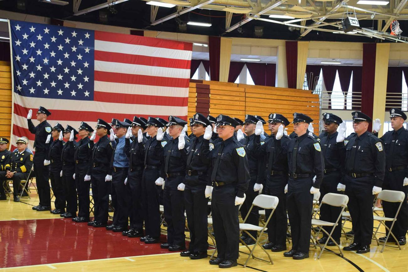 Springfield College hosted a special event on Thursday, July 18 as the Springfield Police Academy Class 0719 celebrated its graduation ceremony.