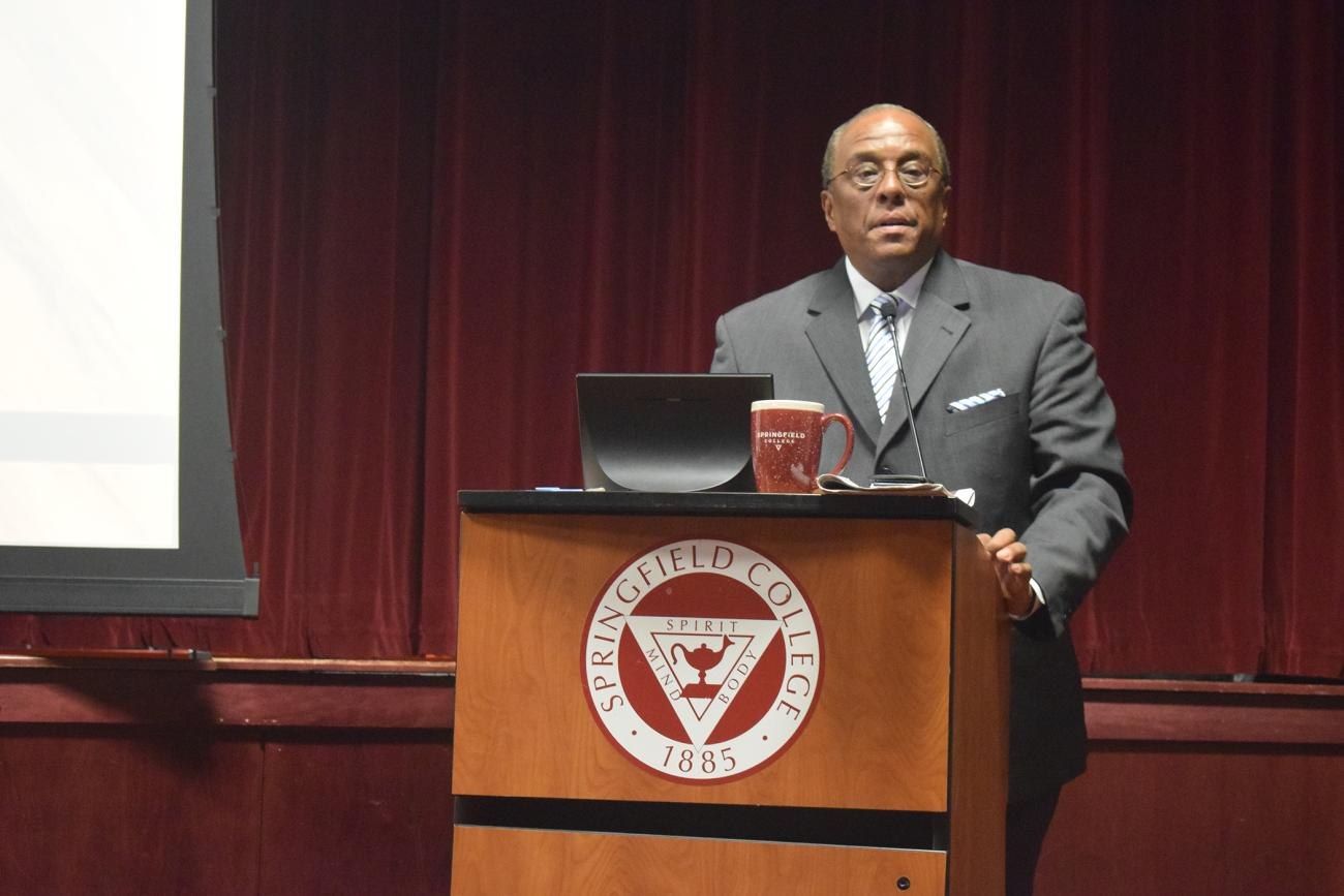 Springfield College Welcomes National Basketball Players Association Mental Health and Wellness Program Director William D. Parham