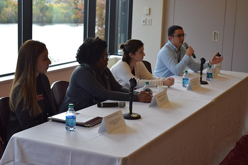 The Springfield College Division of Student Affairs hosted a Student Affairs Drive-In Conference on Friday, Oct. 18, 2019 on the campus.