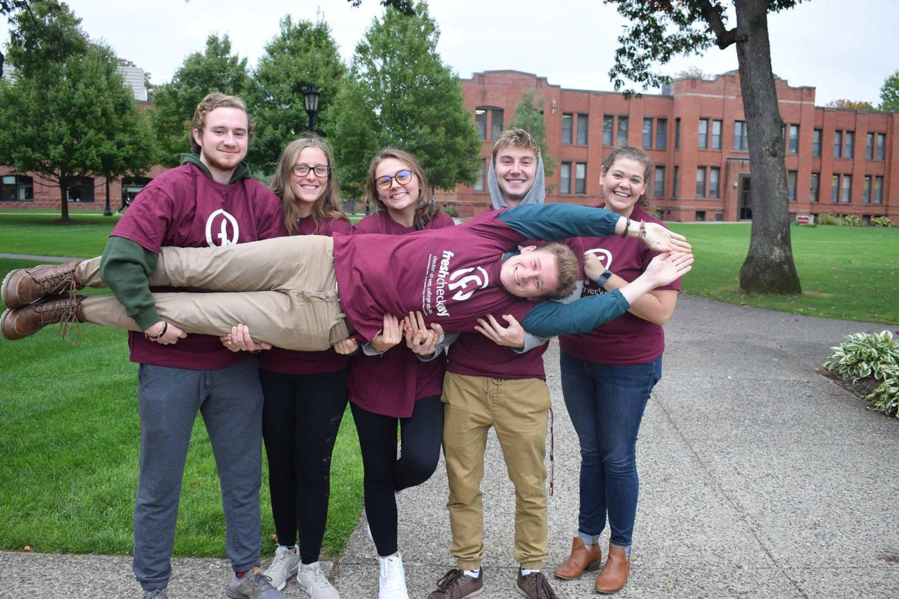 The rain couldn't stop Springfield College students from visiting Judd Gymnasia on Wednesday, Oct. 9, to attend the annual Fresh Check Day. Hosted by the Springfield College Office of Campus Recreation, this program aims to bring mental health awareness to Springfield College students.