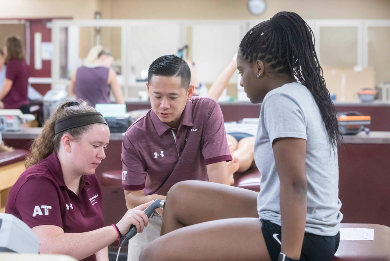Springfield College is proud to unveil its new Master of Science in Athletic Training program, which is accredited under the 2020 Commission on Accreditation of Athletic Training Education (CAATE) Curricular Content Standards.