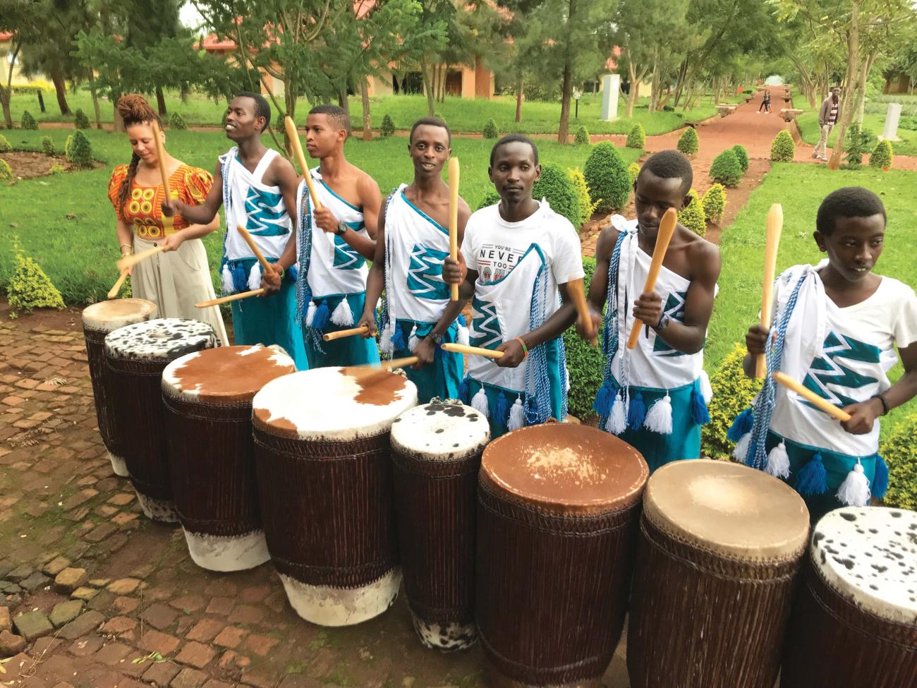 Agahozo-Shalom Youth Village (ASVV) drum line