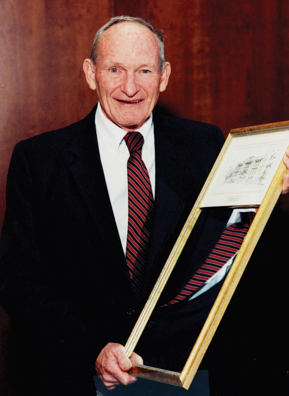 Coach David Auxter, Springfield College Distinguished Alumnus Award honoree, 1994