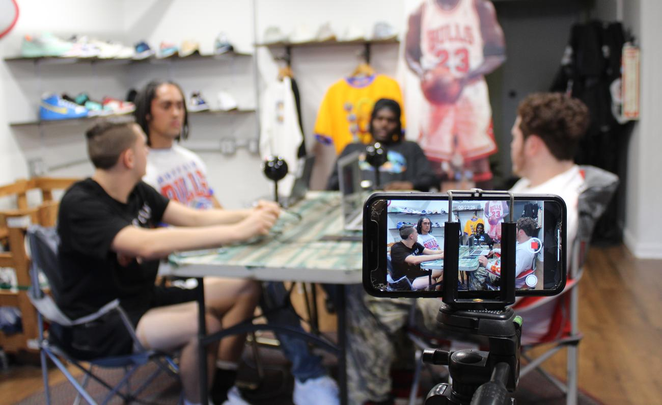 "Springfield College seniors Tyson Jones and Joey Karandy are proud members of our campus community, but they have also remained committed to their hometown of Albany, N.Y. by giving back to their hometown through a podcast called, ""Without Warning."""