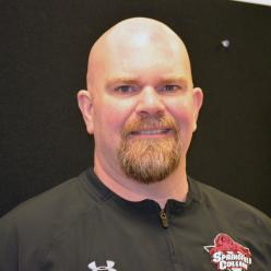 Brian Thompson, faculty member in the strength and conditioning program
