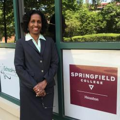 Benita Williams the Assistant Director for Administration of Springfield College Houston