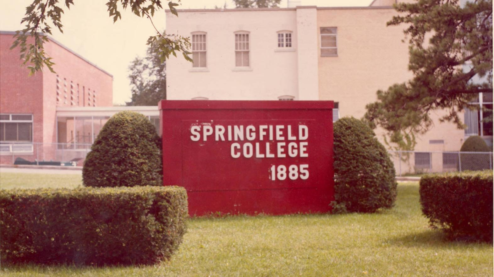 Springfield College Sign