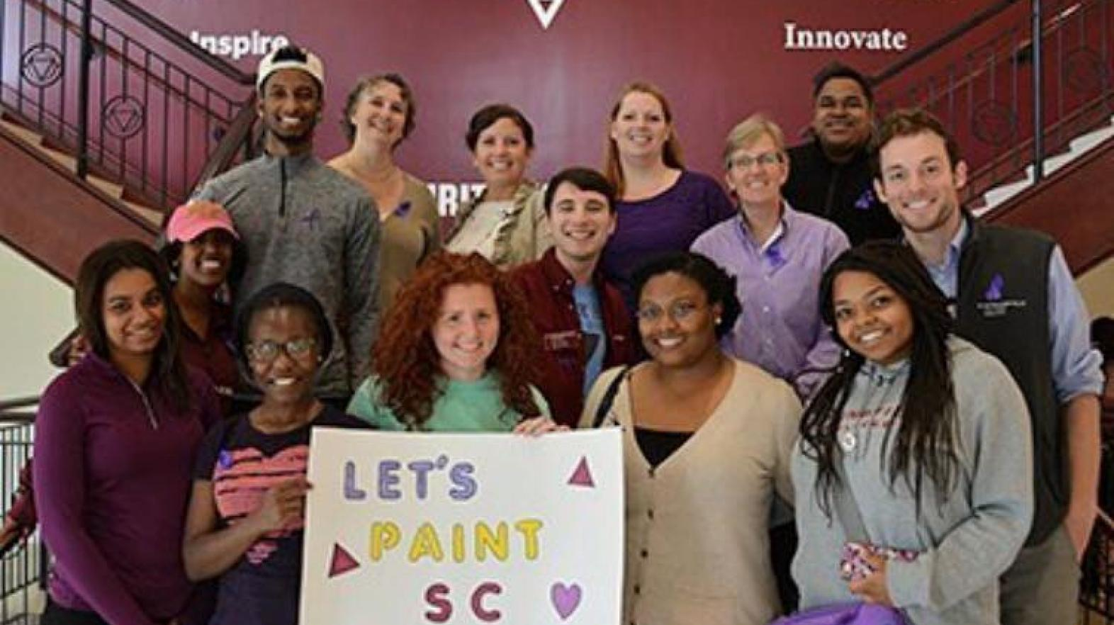 Springfield College Office of Multicultural Affairs students supported National Spirit Day