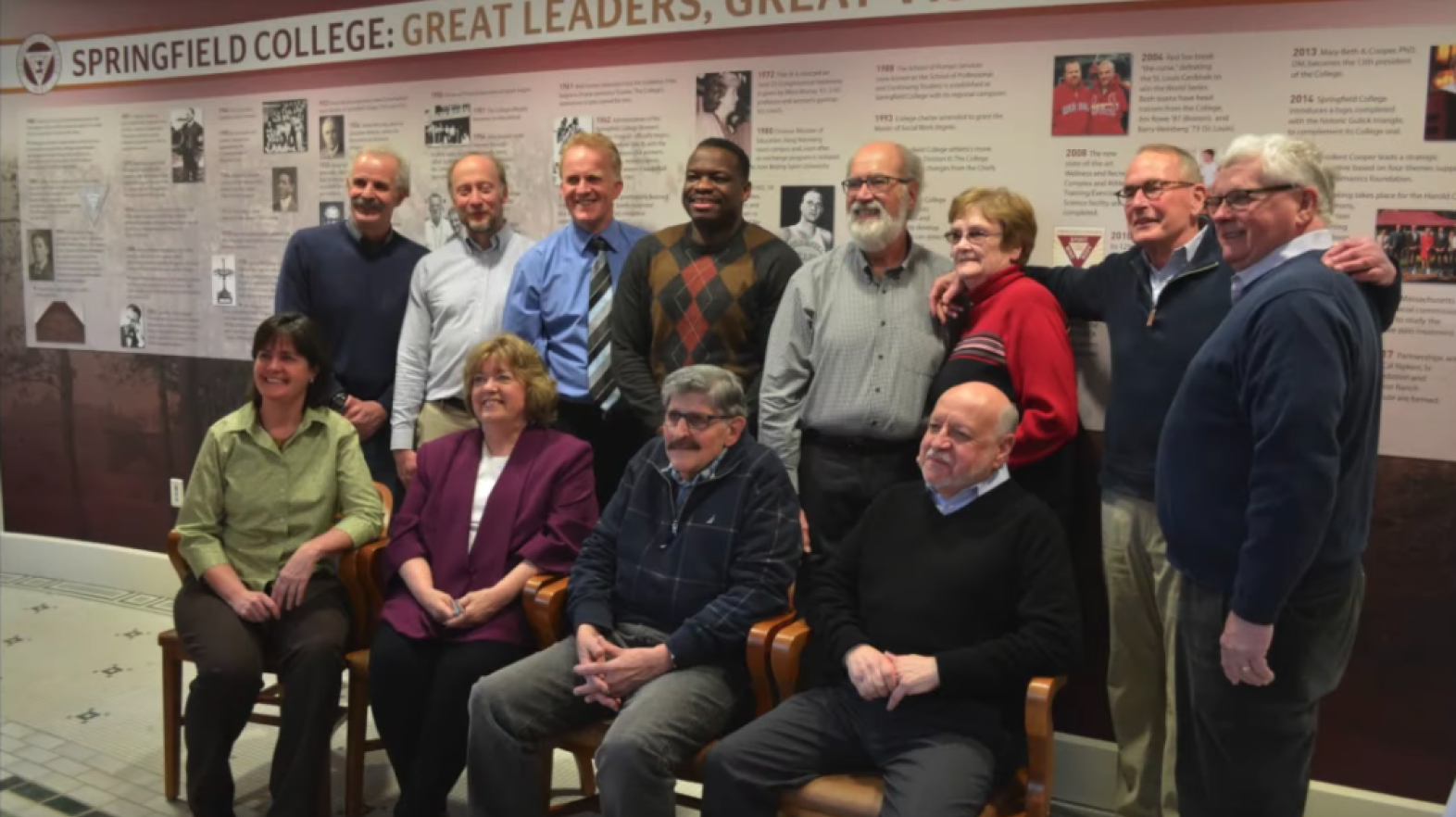 Professors of Humanics at Springfield College