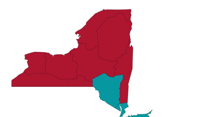 New York Admissions Counselor Regions