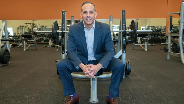 Adam Zeitsiff, CEO of Gold's Gym