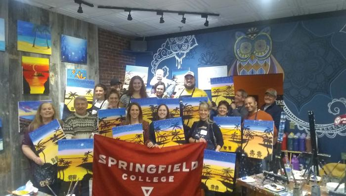 New Hampshire Alumni Association Paint and Sip